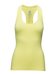 FREYA SEAMLESS TOP - LIME TONIC