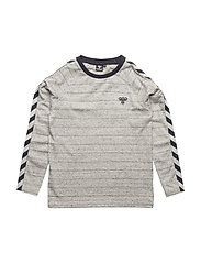 RAY LS TEE - MEDIUM MELANGE