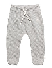 HMLBECKY PANTS - GREY MELANGE