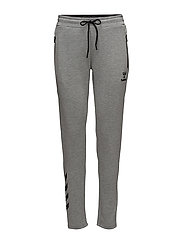 HMLCLIO PANTS - GREY MELANGE