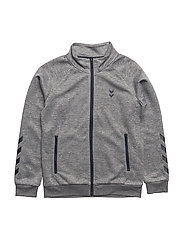 HMLLINCON ZIP JACKET - MEDIUM MELANGE