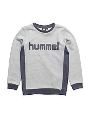 HMLCOLTON SWEATSHIRT - BLUE NIGHTS