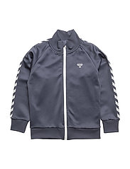 HMLLUKAS ZIP JACKET - BLUE NIGHTS
