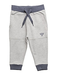 HMLZACHARY PANTS - GREY MELANGE