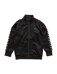 HMLLUKAS ZIP JACKET - BLACK