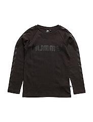 HMLMADS T-SHIRT L/S - BLACK