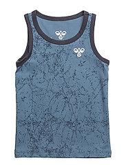 HMLPEPPER T-SHIRT S/L - COPEN BLUE