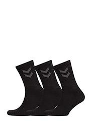 3-Pack Basic Sock - BLACK