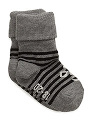SORA SOCKS - GREY MELANGE/BLACK