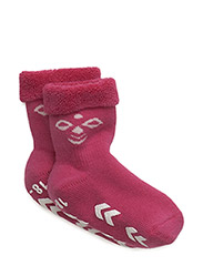 SNUBBIE SOCKS - BEETROOT PURPLE/WHITE