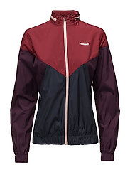 AVA ZIP JACKET - TIBETAN RED