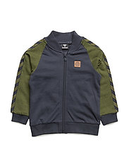 KENNY ZIP JACKET - CEDAR GREEN