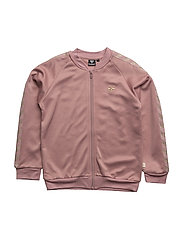 OLGA ZIP JACKET - WOOD ROSE
