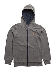 WAYNE ZIP JACKET - MEDIUM MELANGE