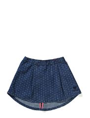 HEDVIG SKIRT - AOP DENIM GIRL