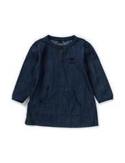 LUCCA DRESS - DENIM