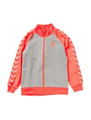 MOLLY ZIP JACKET SS14 - FIERY CORAL