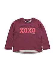 XENIA SWEATSHIRT - PURPLE PORTION