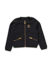 MADDY ZIP JACKET - DARK NAVY