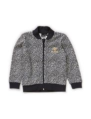 ZULU ZIP JACKET - BLUE LEOPARD