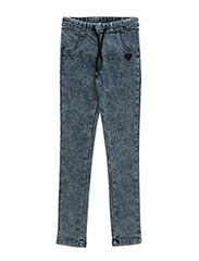 SANDRA PANTS - LIGHT DENIM LOOK