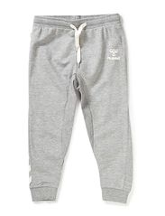 JOGGER PANTS - GREY MELANGE