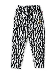 ZEBINA PANTS - SNOW WHITE/MELANGE
