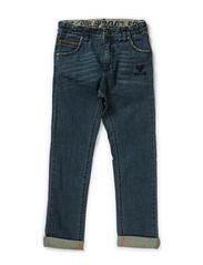 MECK PANTS - DARK DENIM WASH
