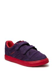 HUMMEL STADIL COL.SOLE LOW JR - LOGANBERRY/BARBERRY