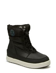 HUMMEL SNOW BOOT JR LACE - BLACK