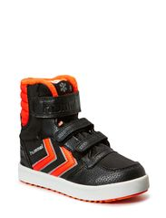 HUMMEL STADIL SUPER HI JR POLY - BLACK