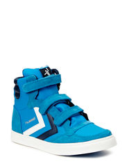 HUMMEL STADIL JR LEATHER HI - BRILLIANT BLUE