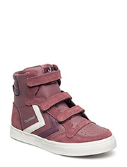 STADIL LEATHER SNEAKER JR - ROSE BROWN