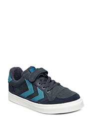 STADIL OILED LOW SNEAKER JR - TOTAL ECLIPSE