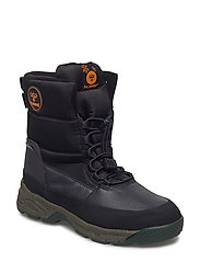 SNOW BOOT LOW JR - BLACK