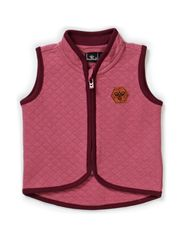 WARMY WAISTCOAT - RED VIOLET