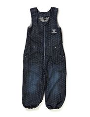 ZIPA OVERALLS AW14 - AOP DENIM GIRL