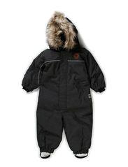 DENIM SNOWSUIT - BLACK