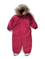 DENIM SNOWSUIT - VERY BERRY