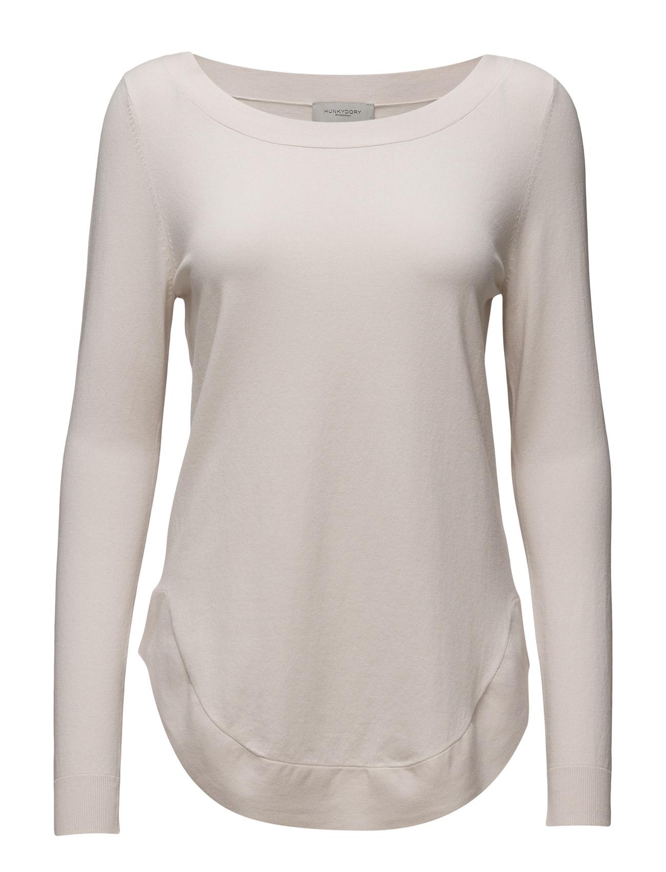 Watson Knit Hunkydory T-shirts & toppe til Kvinder i elfenben