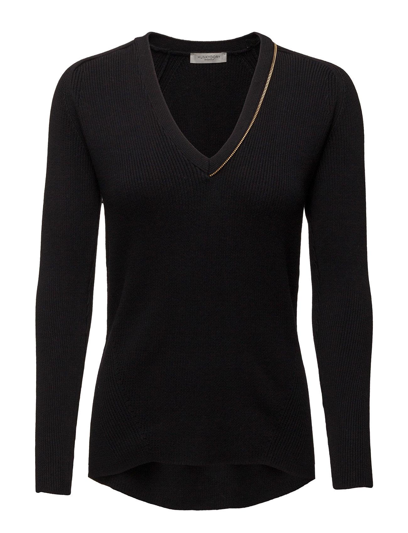 Pauline Knit Hunkydory Sweatshirts til Damer i Navy blå