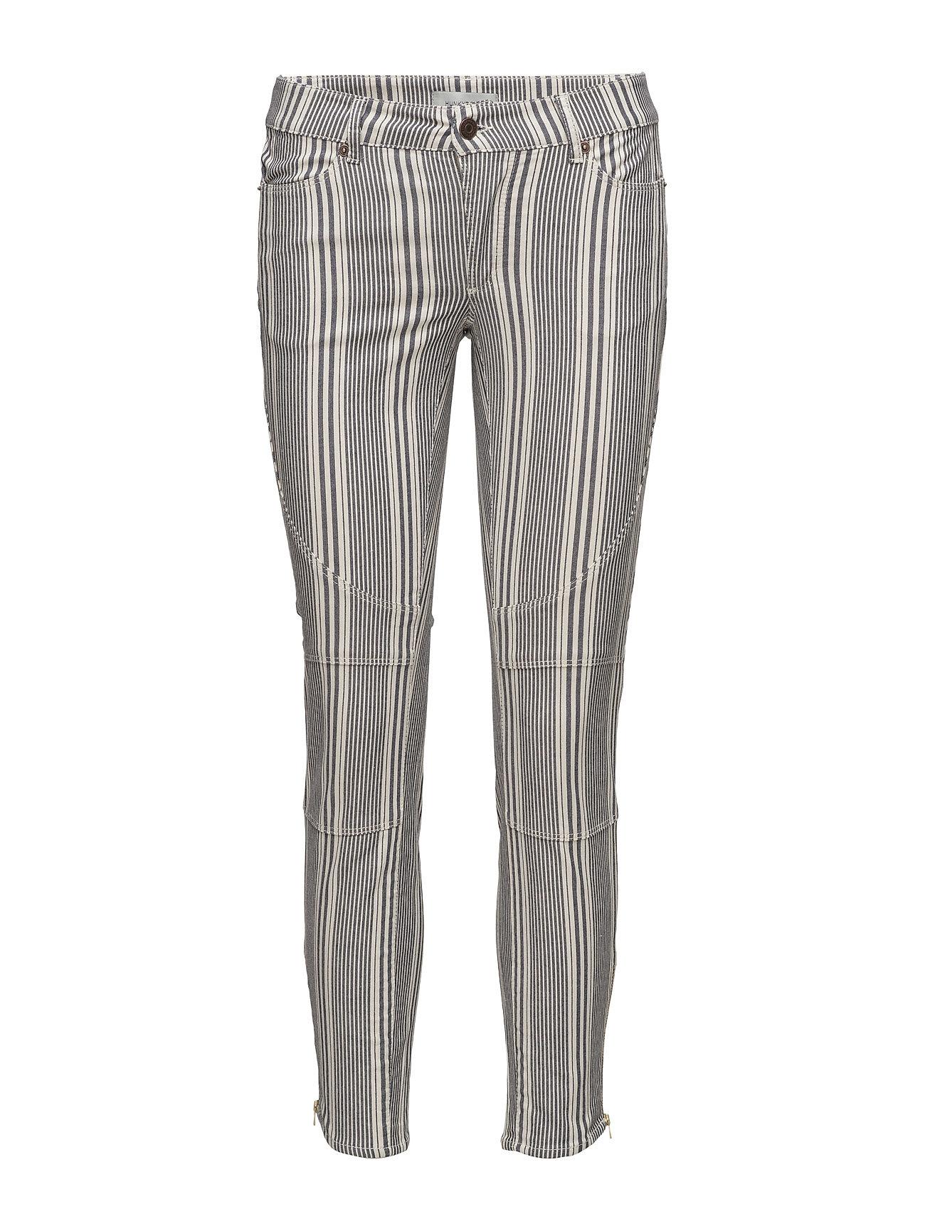 Billy Striped Pant Hunkydory Skinny til Damer i
