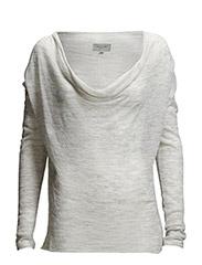 Bramcote Knit - Light grey melange