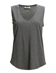 Essential Gainsborough Tank - Dark Grey melange