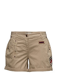 Lizzie Shorts - DARK CAMEL