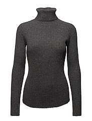 Norman Turtleneck - DARK GREY MELANGE