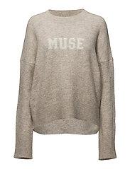 Muse Knit - WARM TAN MELANGE