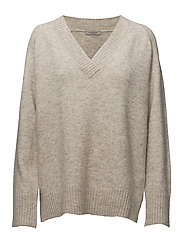 Bevin Knit - WARM TAN MELANGE