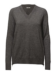 Velma Knit - DARK GREY MELANGE