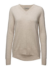 Velma Knit - WARM TAN MELANGE